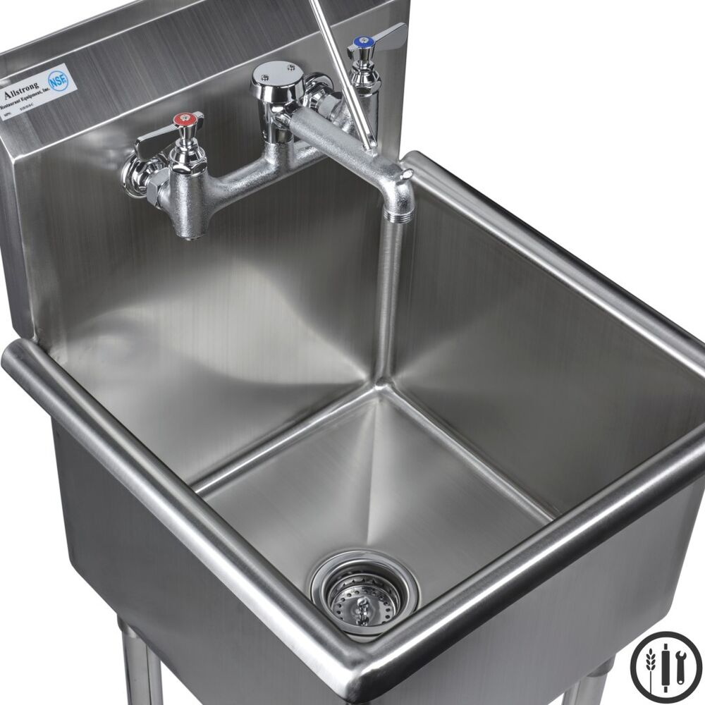 Janitorial Sink : ... Mop Sink and Service Sink Faucet Package- 18