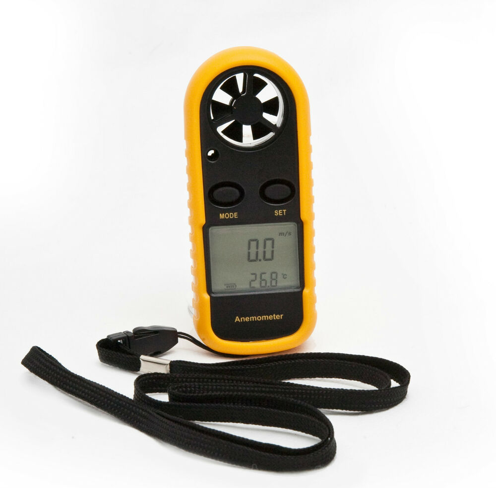 Wind Speed Meter : Ce approved digital handheld anemometer wind speed meter