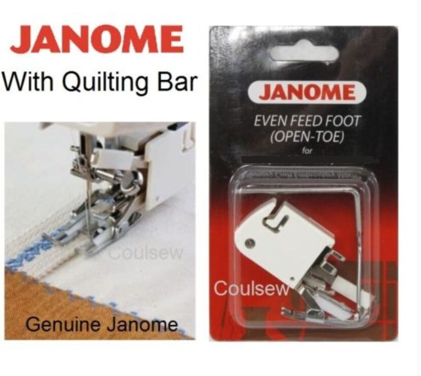 Janome Walking Even Feed Foot Open Toe Cat B No