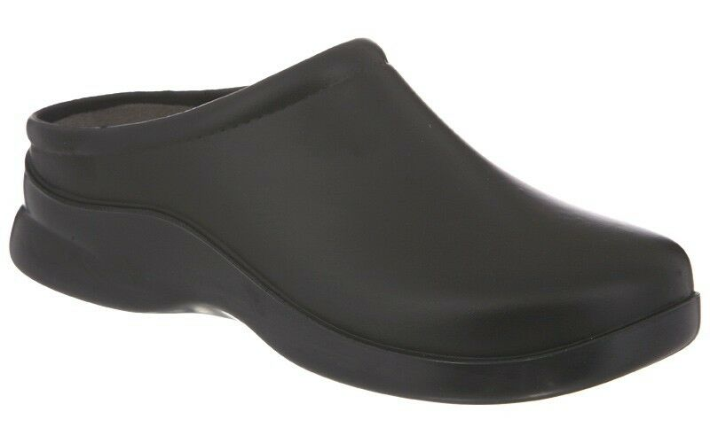 klogs usa doctor chef non slip shoes dusty black