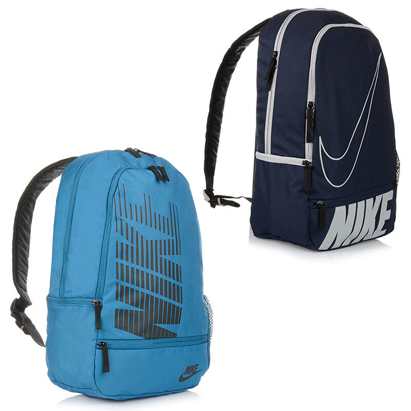neu nike backpack rucksack f r sport schule laptop tasche. Black Bedroom Furniture Sets. Home Design Ideas