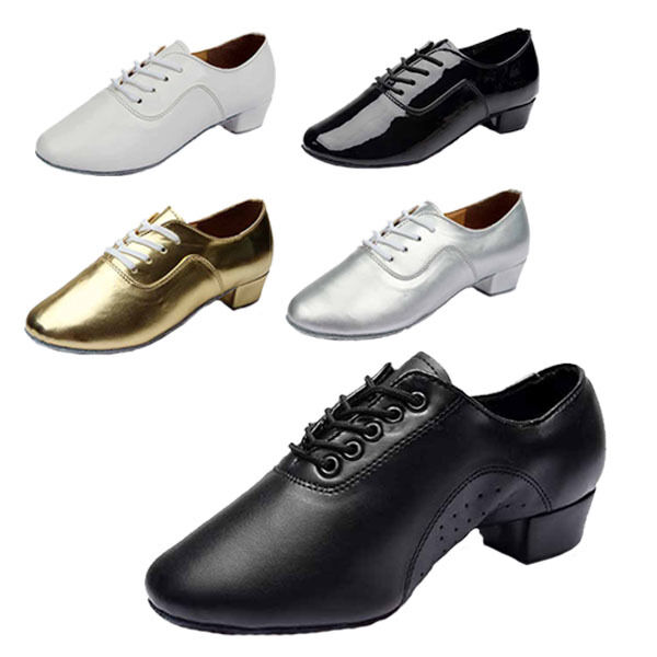 c2fae18bf801 Details about Brand New Adult Men s Ballroom Latin Tango Dance Shoes heeled  5 Color Hot Sell