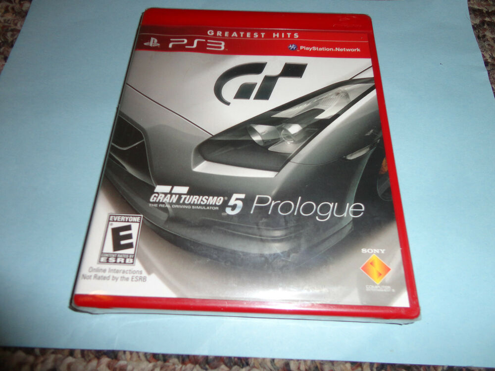 gran turismo 5 prologue sony playstation 3 2008 new ps3. Black Bedroom Furniture Sets. Home Design Ideas
