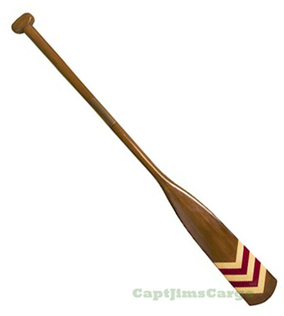 "Nautical Wall Decor Oars: Royal Barge Oar #1 Wooden Decorative Paddle 57"" Nautical"