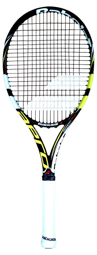 babolat aeropro drive gt 2014 nadal tennis racquet racket strung ebay. Black Bedroom Furniture Sets. Home Design Ideas