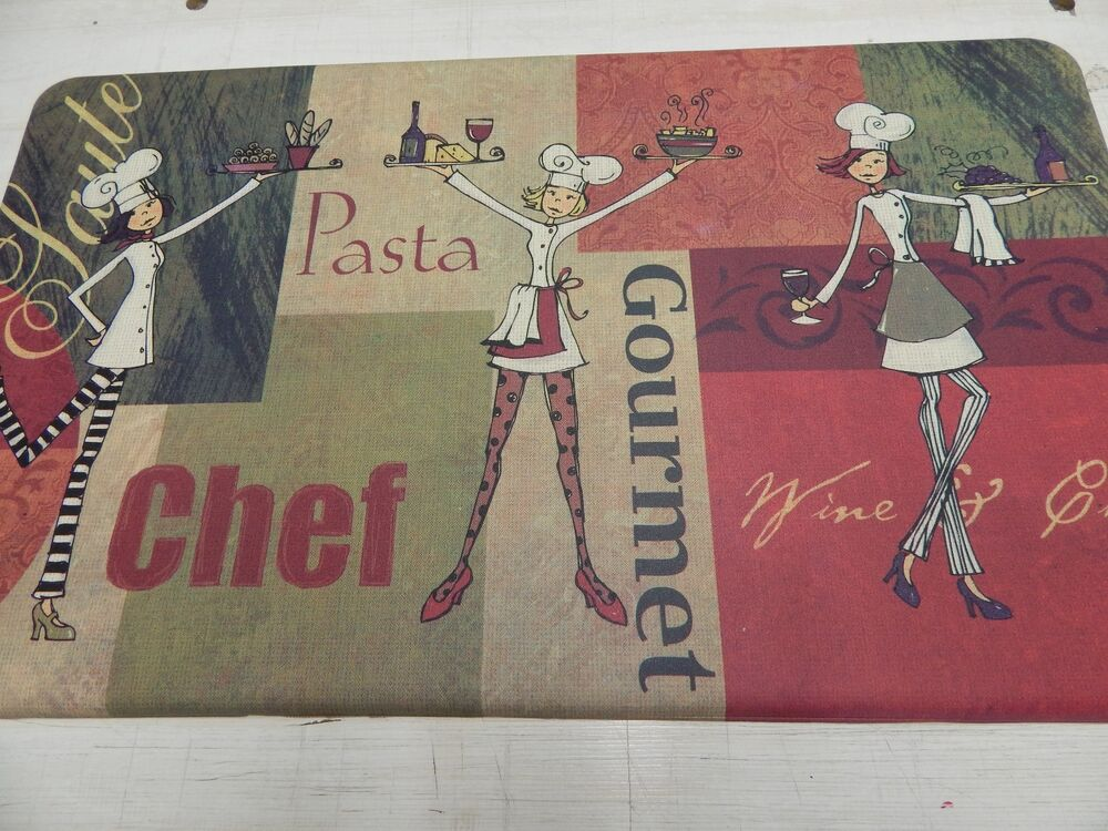 kitchen mat floor mat decorative anti fatigue cushioned foam 18 x 30