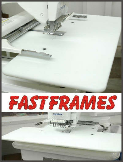 Fast Frames Embroidery Extension Table Top Brother