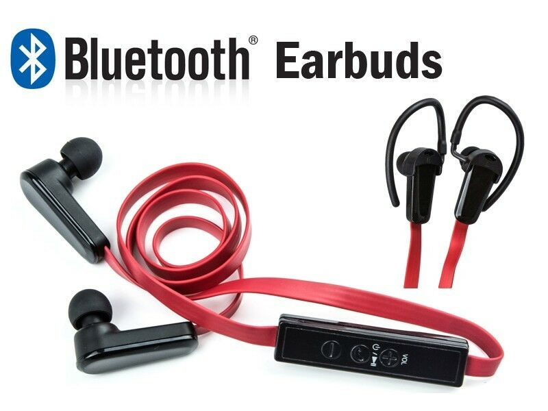 bluetooth wireless sports noise isolating stereo earbud. Black Bedroom Furniture Sets. Home Design Ideas