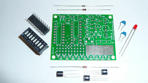 Digital temperature controller electronic kit w pcb