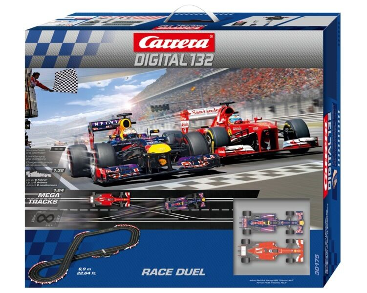 carrera digital 132 race duel slot car race set 30175 ebay. Black Bedroom Furniture Sets. Home Design Ideas