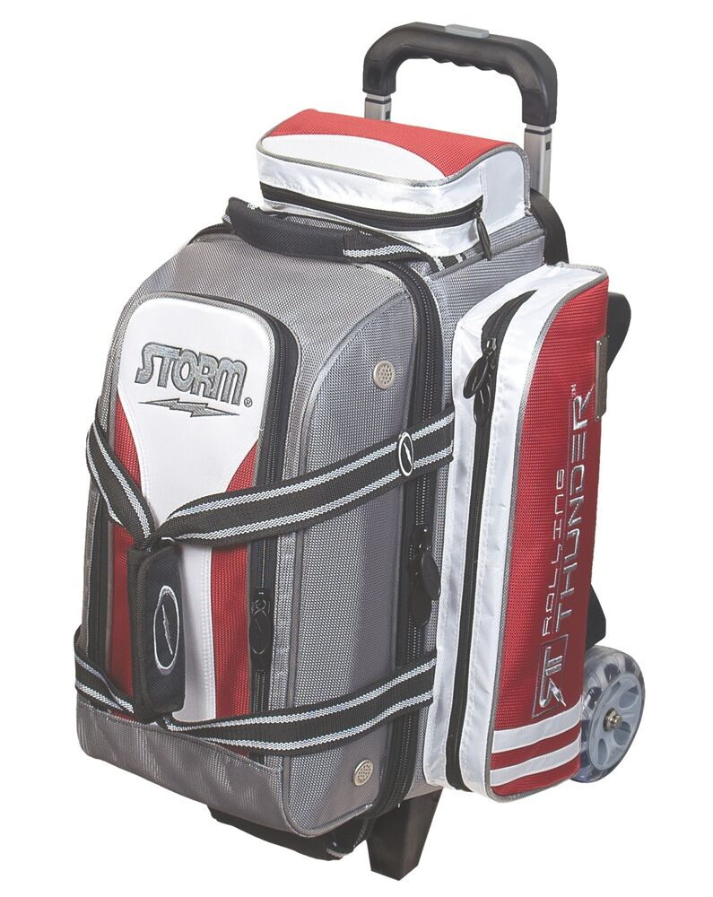 Storm Rolling Thunder 2 Ball Double Roller Bowling Bag