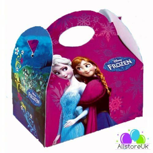 Childrens Kids Disney FROZEN Girls Birthday Meal Loot
