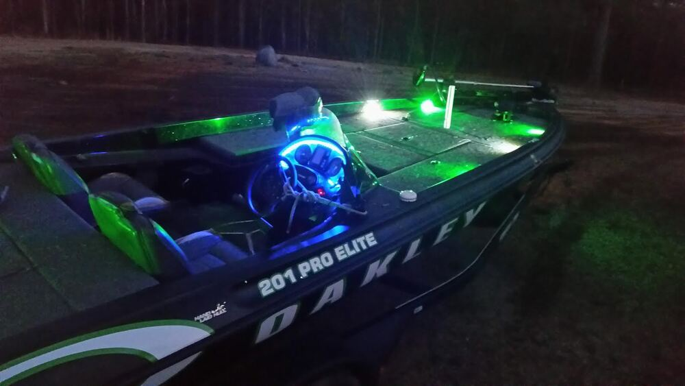 2pc Ultra Bright Led Boat Deck Lights Bass Pontoon Ski Interior Ebay