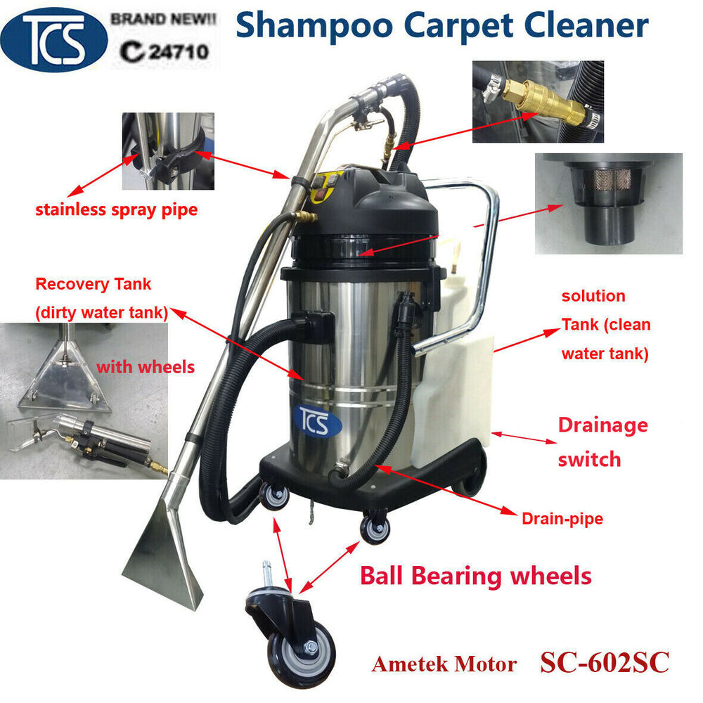 shampoo carpet cleaner cleaning shampooer machine upholstery car detailing ebay. Black Bedroom Furniture Sets. Home Design Ideas