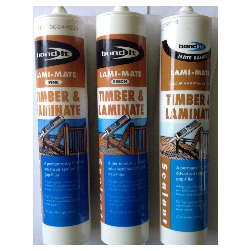 Bond It Lami Mate Timber Sealant Flexible Gap Filler