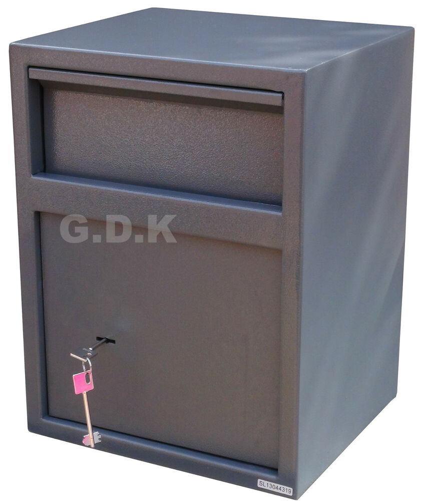 gdk home office security letter post drop safe cash deposit post box key ebay. Black Bedroom Furniture Sets. Home Design Ideas