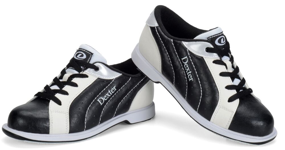 groove s bowling shoes black white wide width