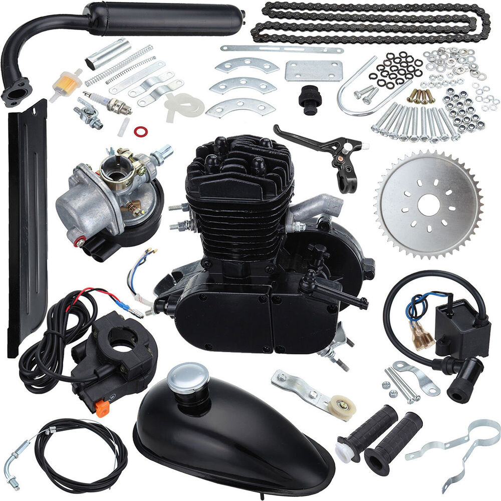 49CC 50CC 2 Cycle Petrol Gas Engine Motor Kit For