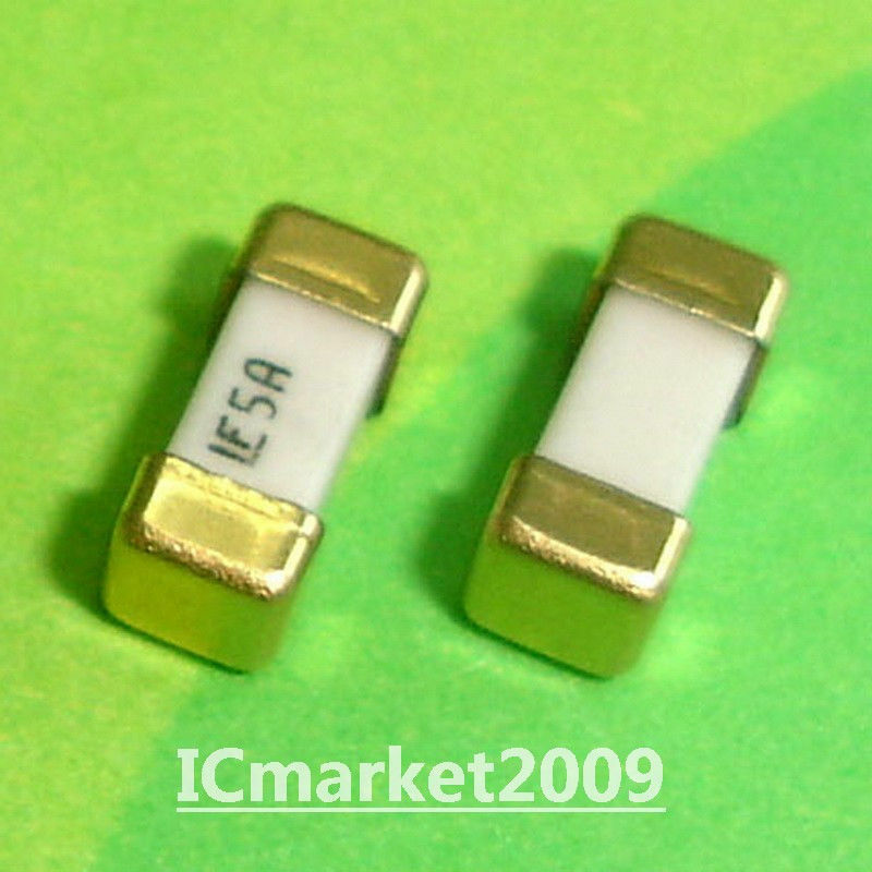 10 Pcs 5a 1808 Littelfuse Fast Acting Smd Fuse 5 0 Ampere Surface Mount Fuses