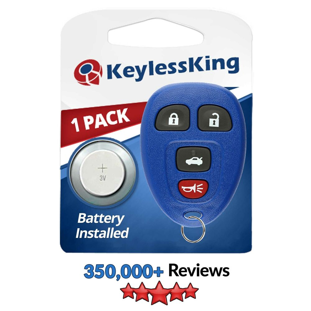 New Blue Replacement Keyless Entry Remote Key Fob Clicker