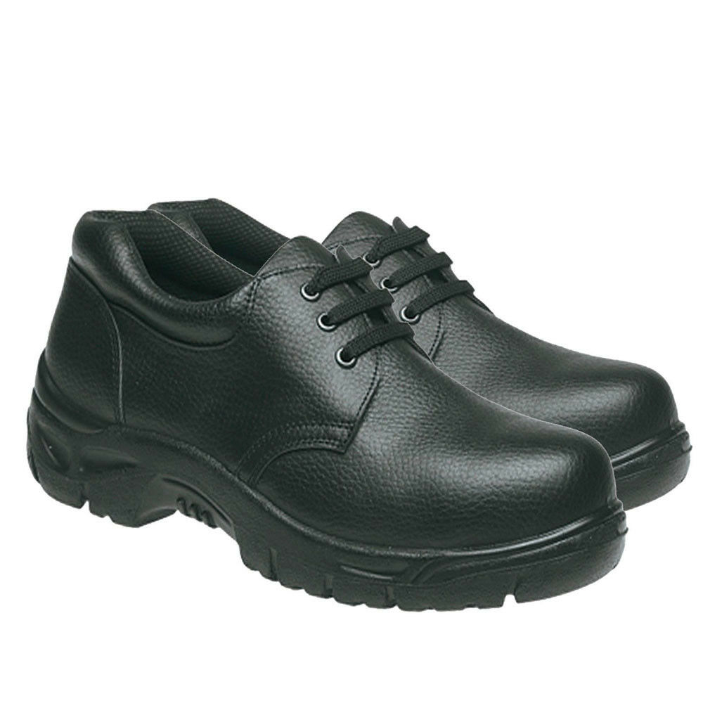 Safety Shoe Steel Toe Cap Shoe Kitchen Shoe Lightweight Work Shoe Grafters Shoes Ebay