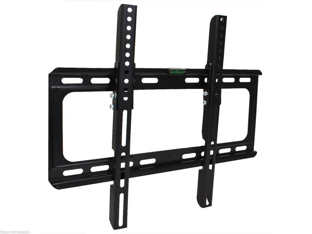 new universal lcd led plasma tilt tv wall mount bracket 26 27 32 37 40 42 46 47 ebay. Black Bedroom Furniture Sets. Home Design Ideas