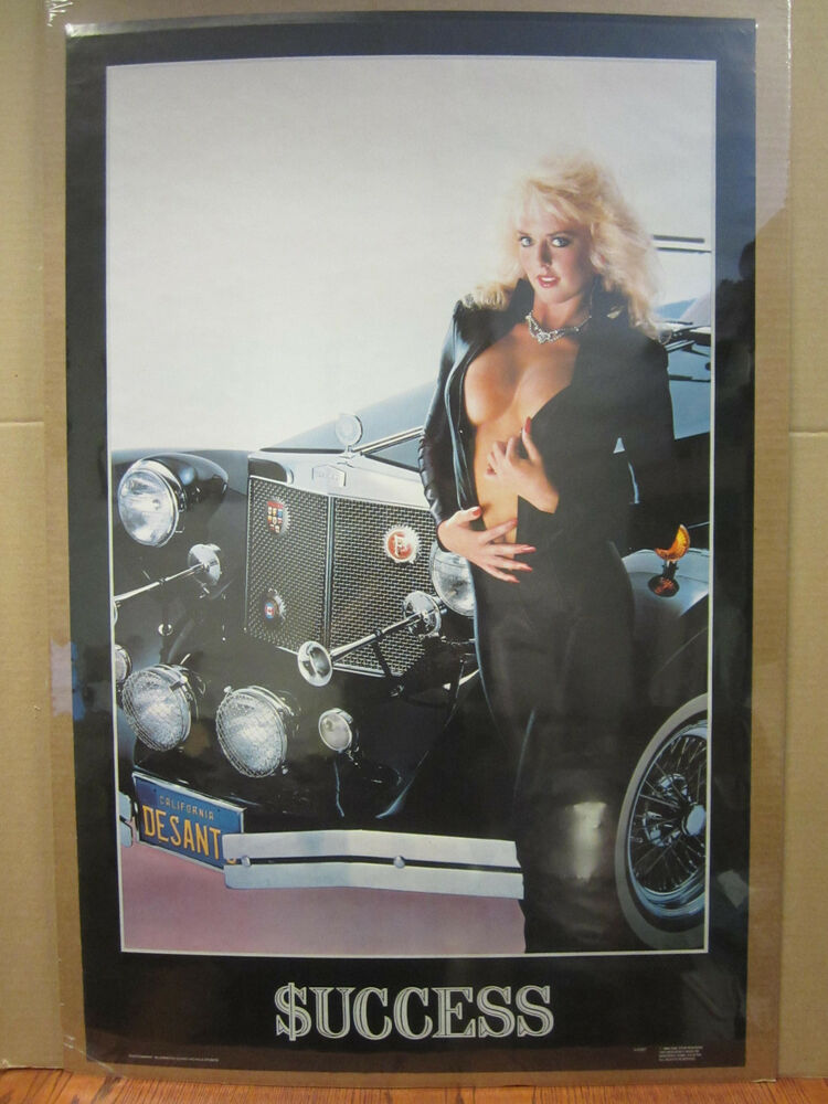 Man Cave Posters For Sale : Vintage uccess poster hot girl car garage man cave