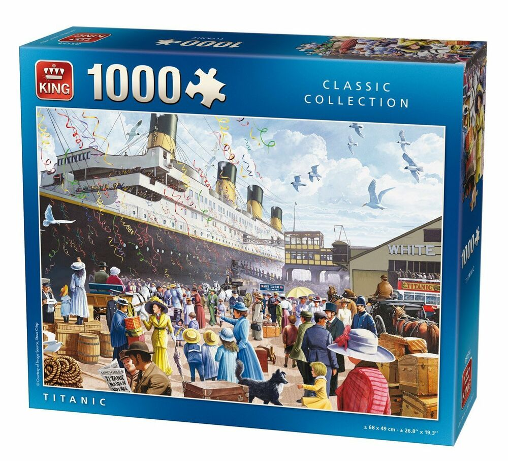 1000 Ideas About Kings Day Netherlands On Pinterest: 1000 Piece Jigsaw Puzzle The Titanic Boat Ship Maiden