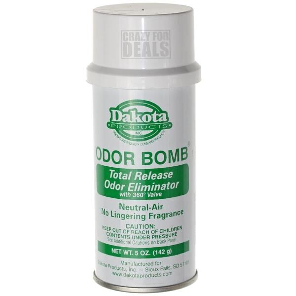 Dakota odor bomb neutral air oz freshener sanitizer