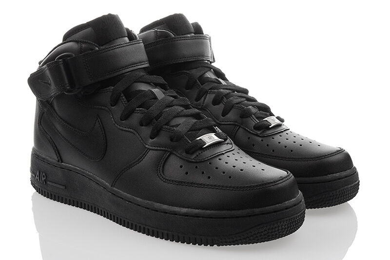 neu schuhe nike air force 1 mid high top exclusive herren sneaker leder sale ebay. Black Bedroom Furniture Sets. Home Design Ideas
