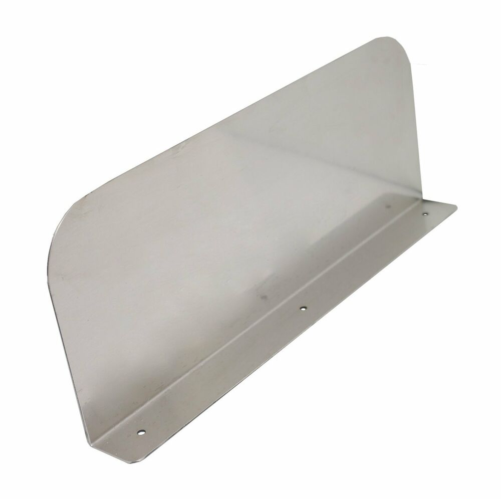 Allstrong s s splash guard 15 x6 for drop in hand sink for Splash guard kitchen sink