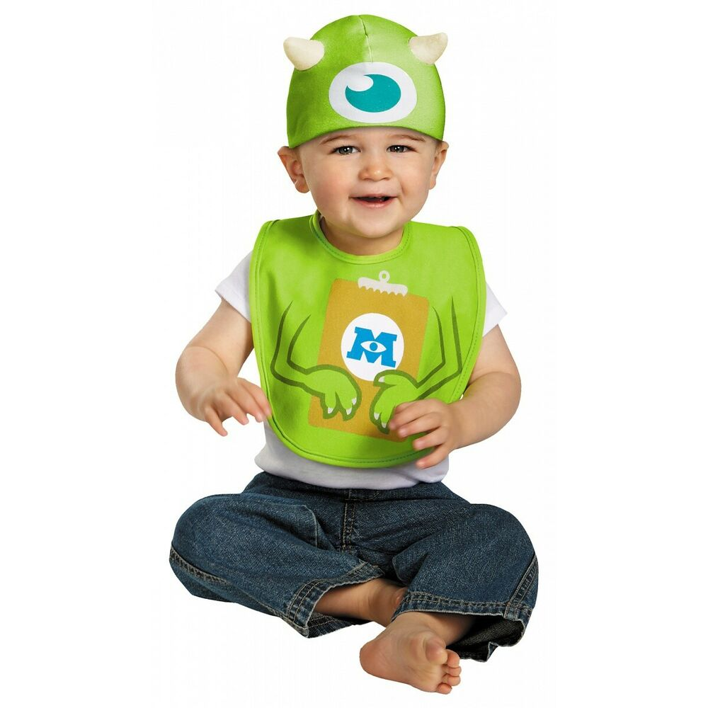 sc 1 st  eBay & Mike Bib u0026 Hat Costume Monsters Inc. Halloween Fancy Dress | eBay