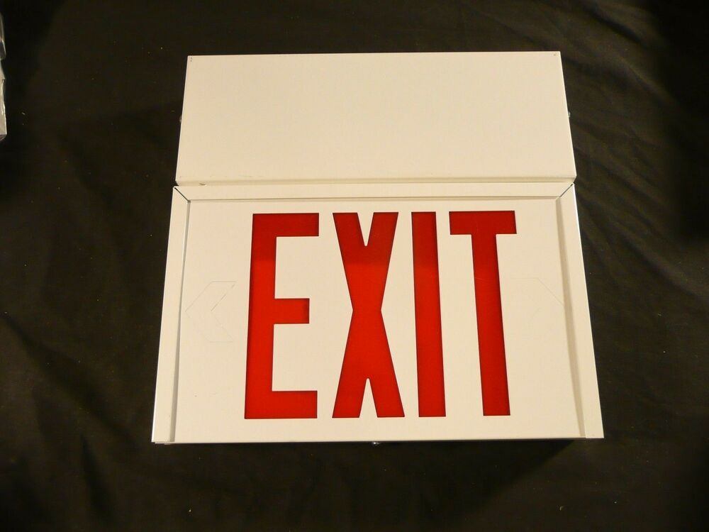 Cooper Lighting Sure Lite Led Emergency Exit Sign With