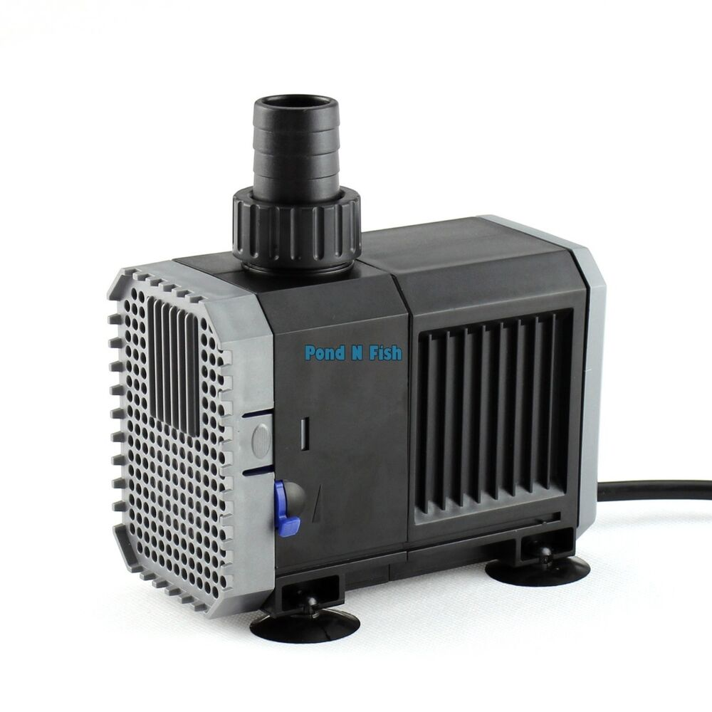 800 gph adjustable aquarium fish tank submersible water for Fish water pump