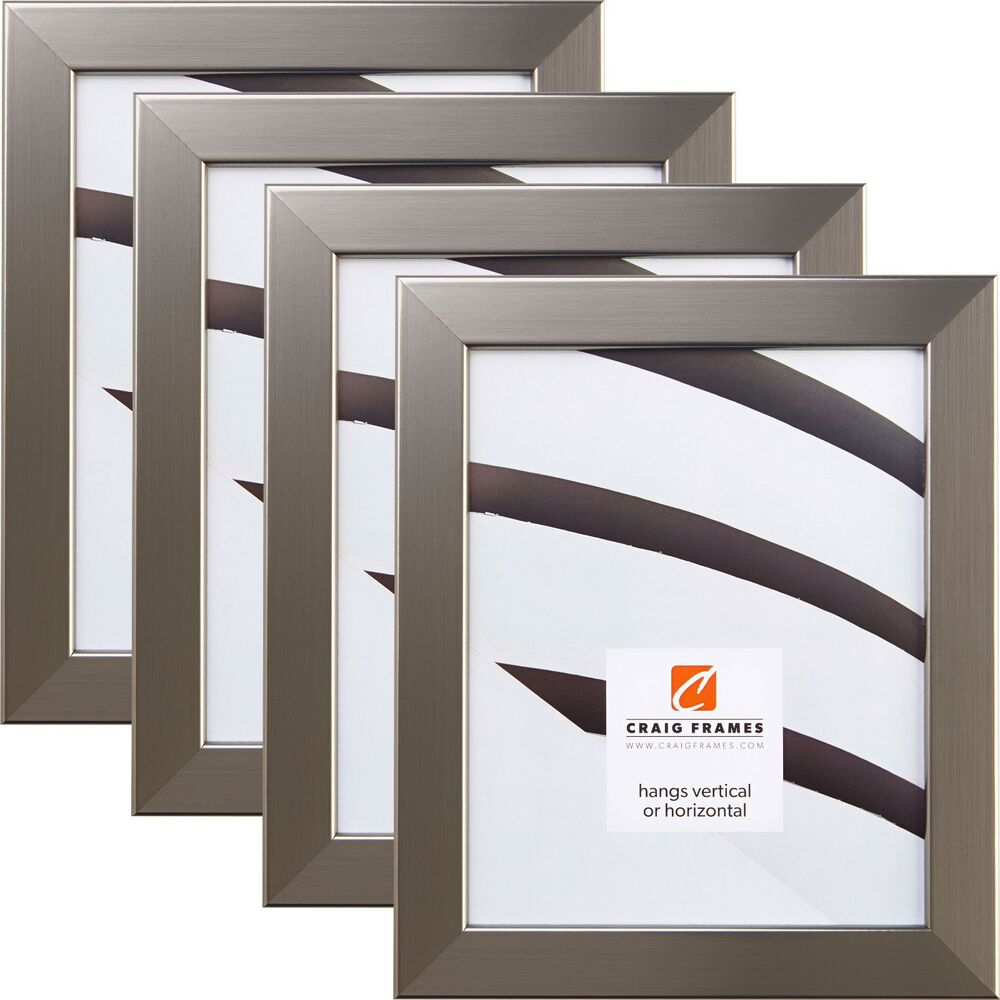 craig frames various contemporary silver picture. Black Bedroom Furniture Sets. Home Design Ideas