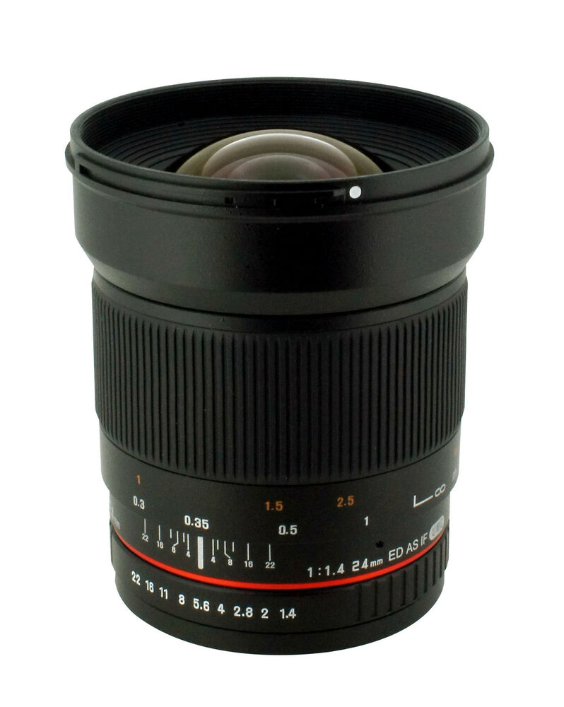 New Samyang 24mm F1 4 Aspherical Wide Angle Lens For Canon