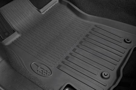 Weather Car Mats >> 2015 - 2017 Subaru Outback Legacy All weather Rubber Floor Mats Genuine OEM 4pcs | eBay