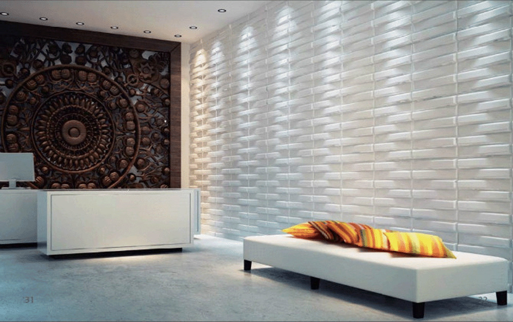 block 3d wall panels dining room living room bedroom