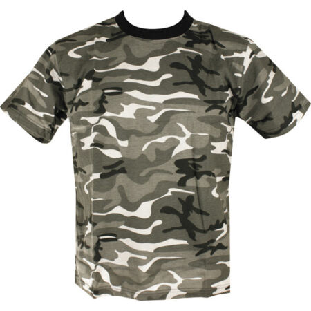 img-Military ARMY T Shirt GREY URBAN Camoflage CAMO SAS PAR