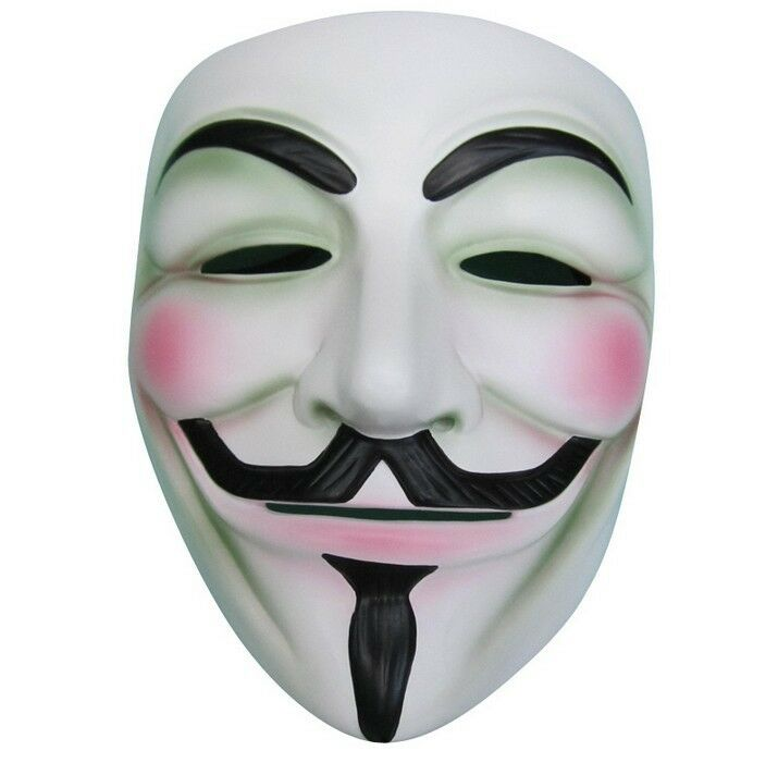 2pcs V FOR Vendetta Anonymous Movie Adult Guy Mask ...