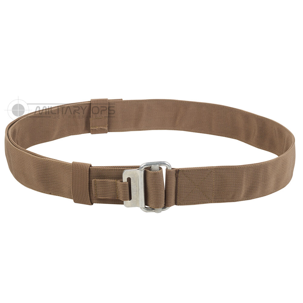74d98466c2437 MILITARY ROLL PIN BELT COYOTE AIRBORNE DESERT BROWN WEBBING BRITSH ARMY TAN  WEB