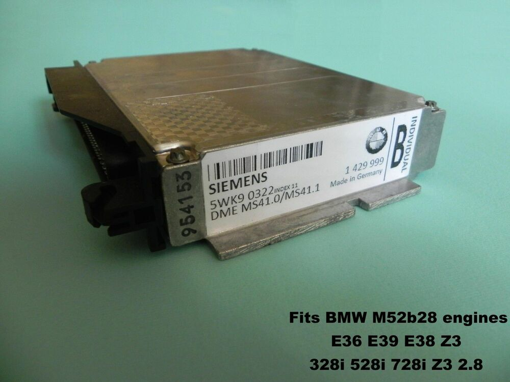 Bmw Chip Tuned Ecu E36 Z3 M52 328i Eu Us Ms41 Up To 247hp 305nm 7100rpm Ews Free Ebay