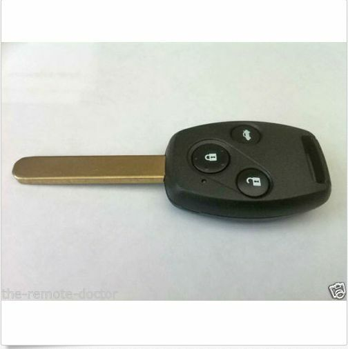 New honda civic complete remote key fit post 2009 model for Program honda civic key