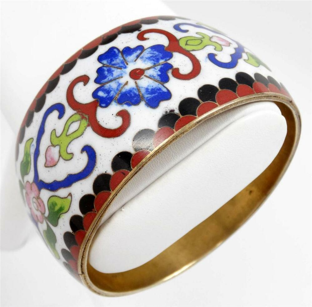 Wide Antique Chinese Cloisonne Enamel Stylized Floral. Black Diamond Eternity Band. Conflict Diamond. Engagement Rings Platinum Band. Kay Jewelers Bracelet. Wide Band Diamond Rings. Gold Jewelry Rings. Pear Shaped Wedding Rings. Platinum And Yellow Gold Wedding Band