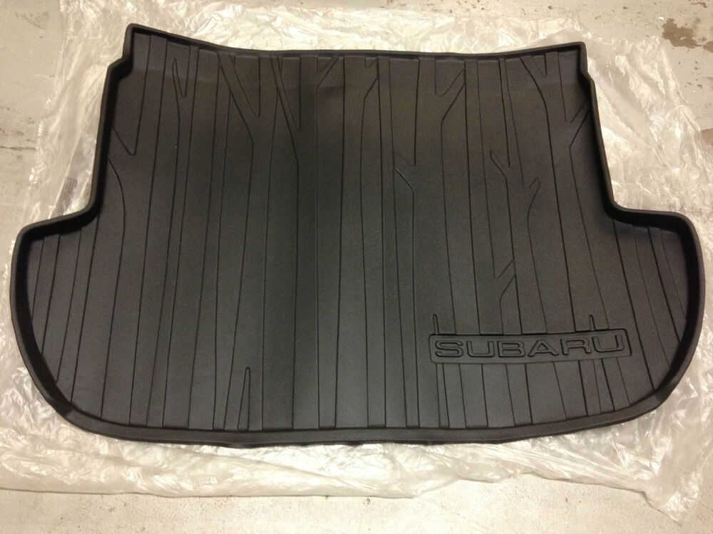2014 2017 subaru forester rear cargo tray liner mat. Black Bedroom Furniture Sets. Home Design Ideas