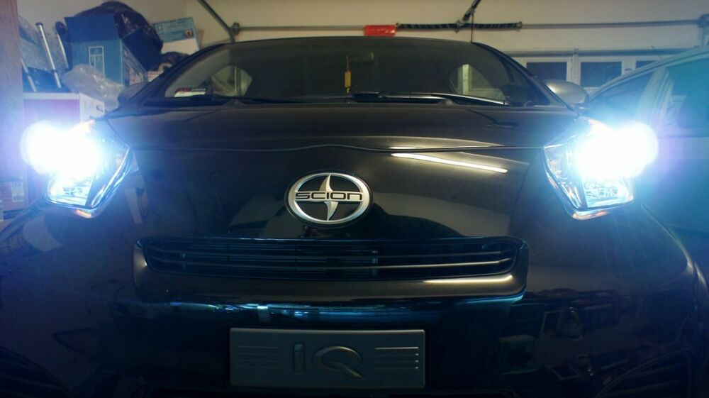for scion frs iq tc xb headlight upgrade hid xenon. Black Bedroom Furniture Sets. Home Design Ideas