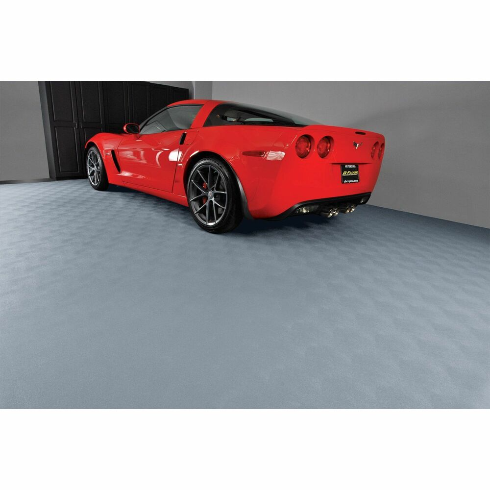 Gray Large Garage Floor Protector Cover Anti Fatigue Mat