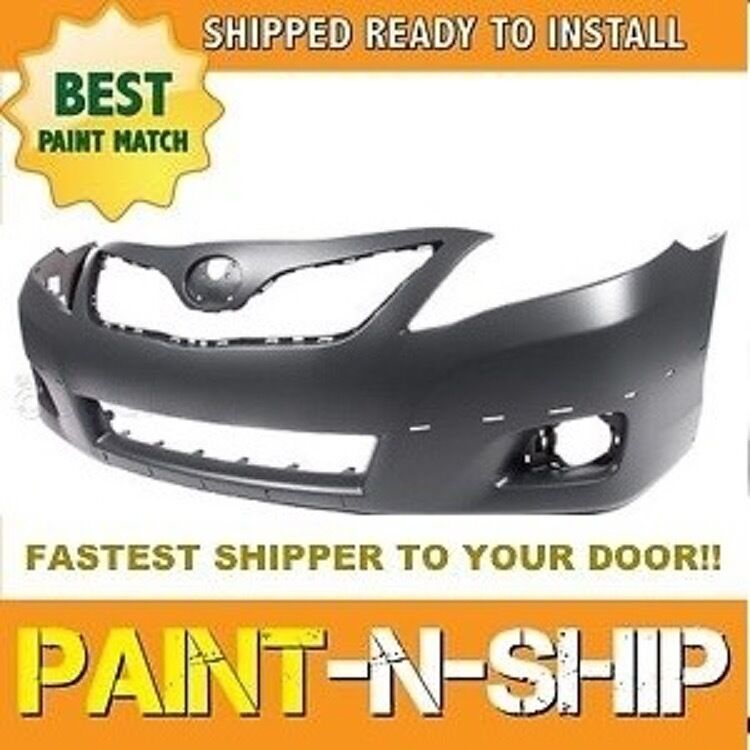 fits 2010 2011 toyota camry se front bumper painted to. Black Bedroom Furniture Sets. Home Design Ideas