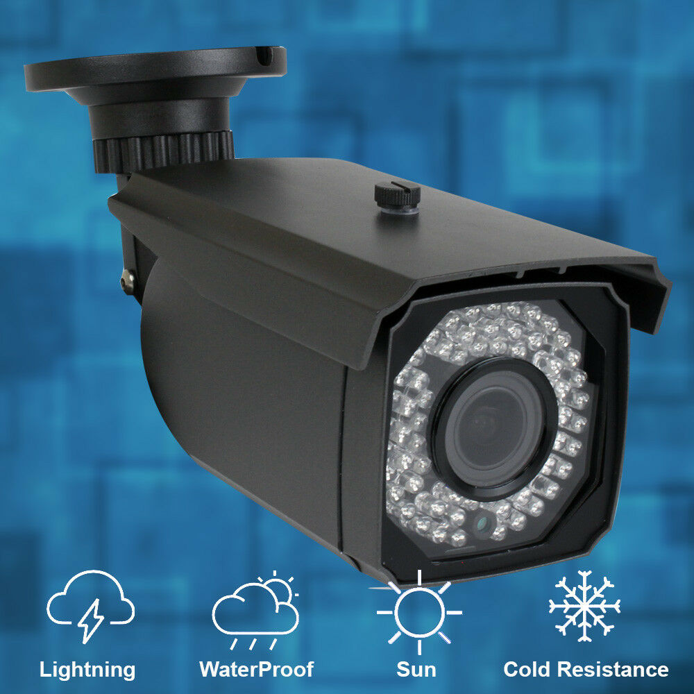 Gw5061ip 1920p 5mp poe ip camera waterproof varifocal lens 180 ft ir ebay - Exterior surveillance cameras for home ...