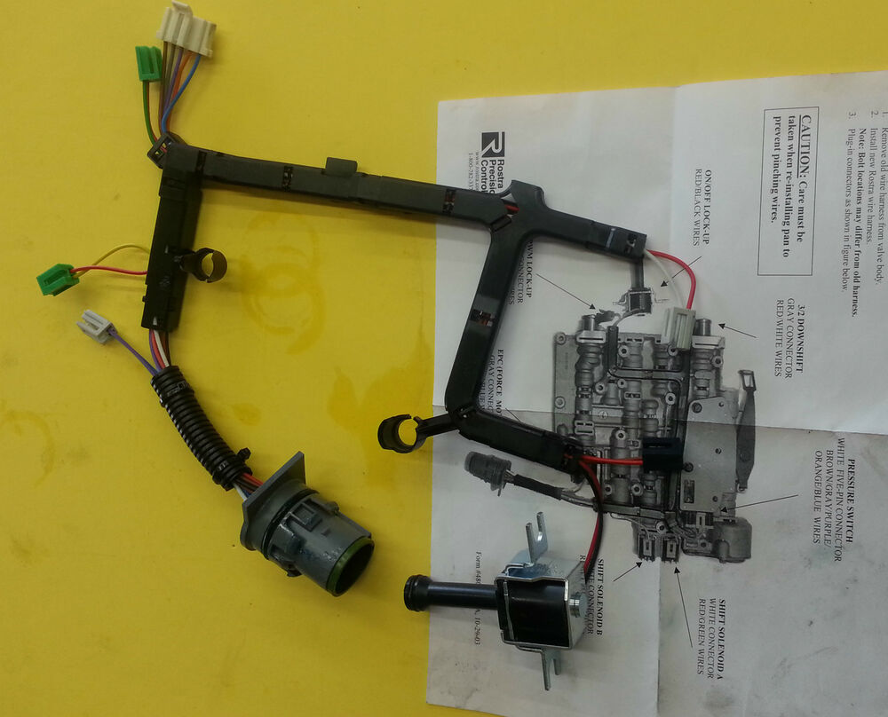 new 4l60e,4l65 internal wire harness solenoid with lock up ... 4l60e vs 4l65e wiring harness 1995 4l60e wiring harness diagram #14